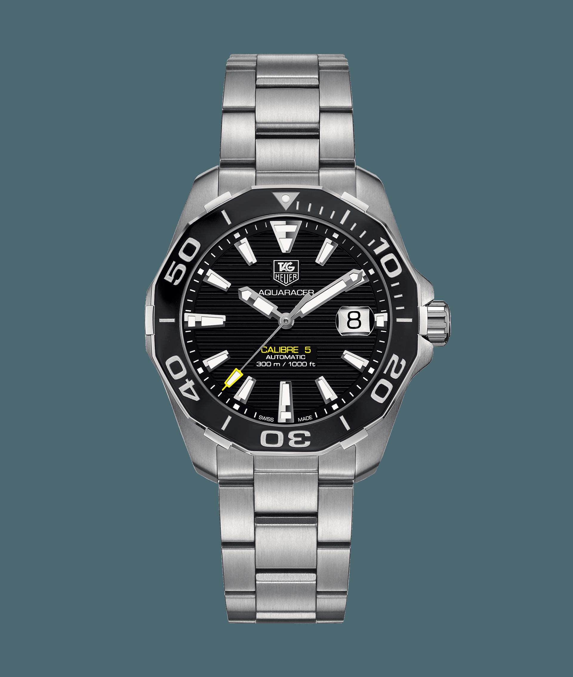 86d95bee0f8 Aquaracer Calibre 5 Relógio Automático 300 M - 41 mm WAY211A.BA0928 Preço  do relógio TAG Heuer