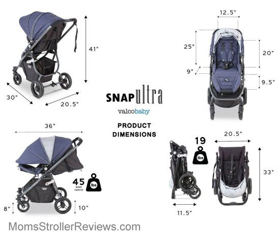 Valco Baby Snap Ultra Stroller Review | Valco Baby Strollers