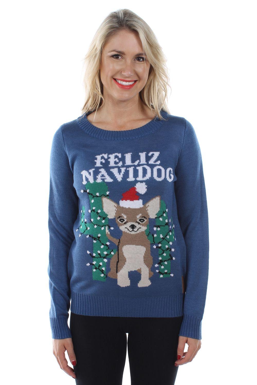 Chihuahua Ugly Christmas Sweater