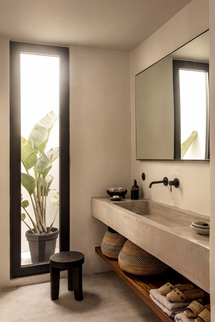 2 waschbecken badezimmer eitelkeiten casa cook kos  kos vanities and interiors
