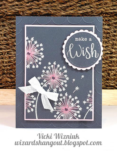 Dandelion Wishes Cards (Wizard's Hangout) #flowercards