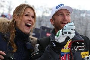 When Bode Miller saw Morgan beck playing beach volleyball, it was love at first sight!