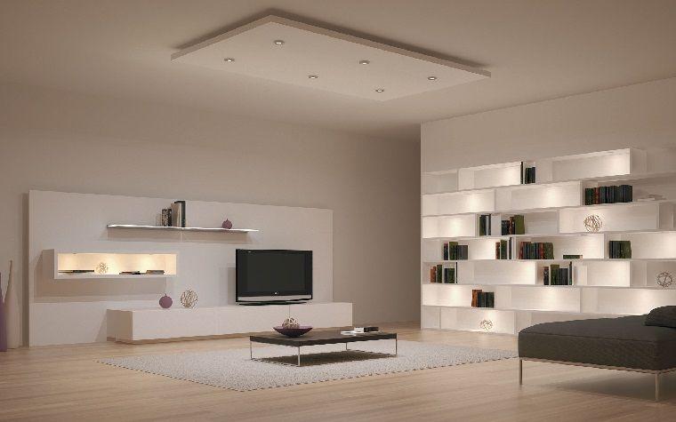 Interiores minimalistas 85 habitaciones en blanco y negro | Interior ...