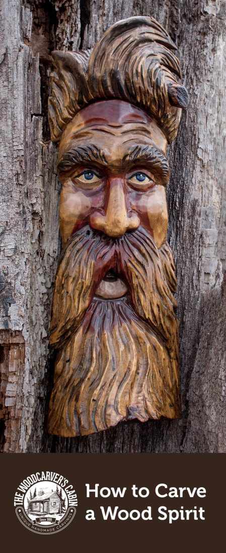 How To Carve A Wood Spirit Wood Carving The Woodcarver