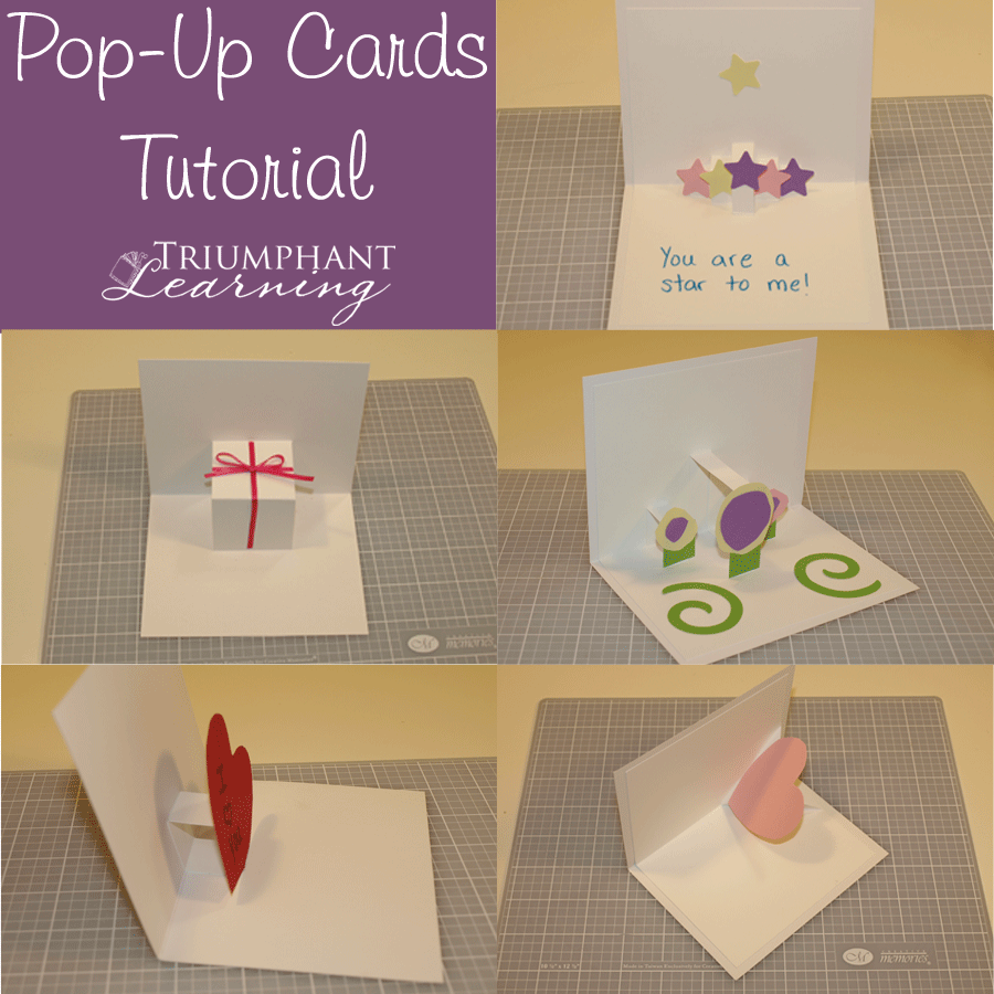 Handicrafts fun cards cards and tutorials make unique diy pop up cards for any occasion tutorials for making four different kinds of pop up cards kristyandbryce Images