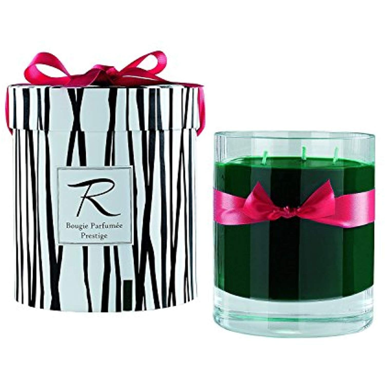 Rigaud Paris Cypres Bougie Parfumee Prestige Large 3 Wick Prestige Model Candle Green 6 Tall 150 Hours Bur Novelty Candles Specialty Candles Candle Pot