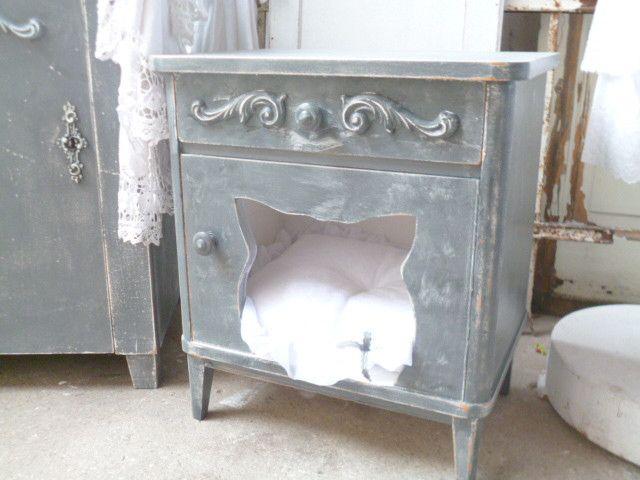 katzenschlafplatz katzenbett von krewa steht f r kreativ werkstatt auf. Black Bedroom Furniture Sets. Home Design Ideas