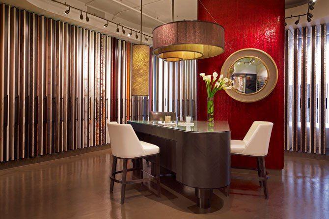 maya romanoff's new manhattan showroom | architektur, toms und, Innenarchitektur ideen
