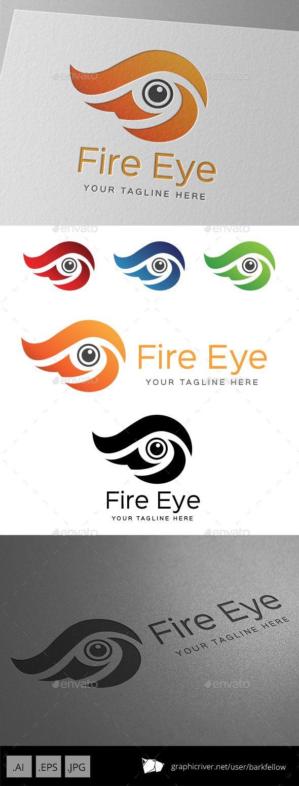 Fire Eye Logo Vector Eps Symbol Education Available Here