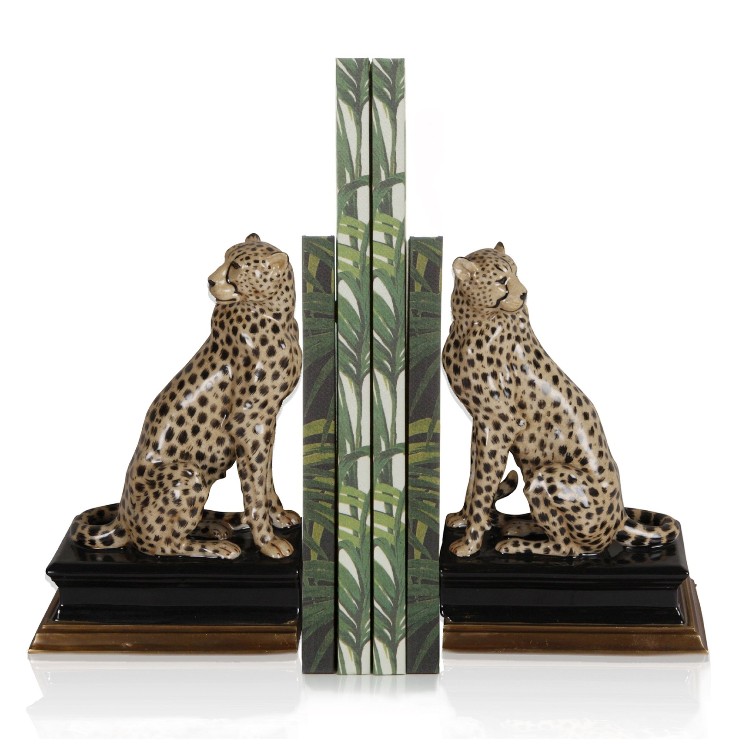 House Of Hackney Cheetah Bookends