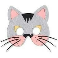 Antifaz De Gato Mascaras Carnaval Antifaces Para Ninos Caretas De Animales