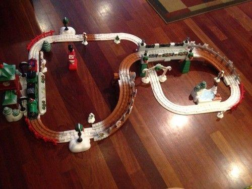 GeoTrax Christmas Train Set #ebay #geotrax | Ebay | Pinterest
