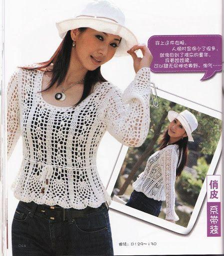 CROCHET Sweater - Picasa