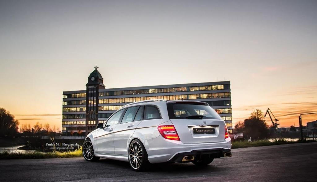 Mercedes-Benz C63 AMG Estate by Loewenstein Manufaktur #mbhess #mbtuning #mbcars #loewenstein