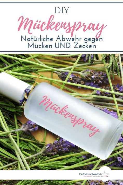 DIY Mückenspray #insects