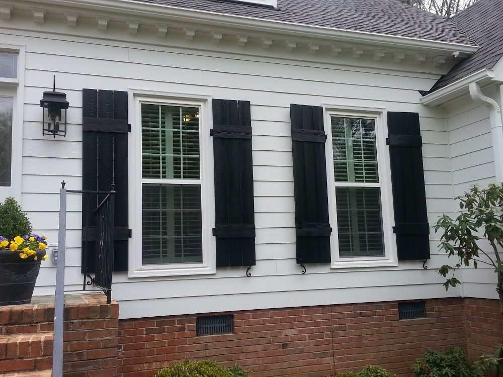 Modern Click To Enlarge For Batten Shutters Exterior Vinyl House Home Pinterest Batten