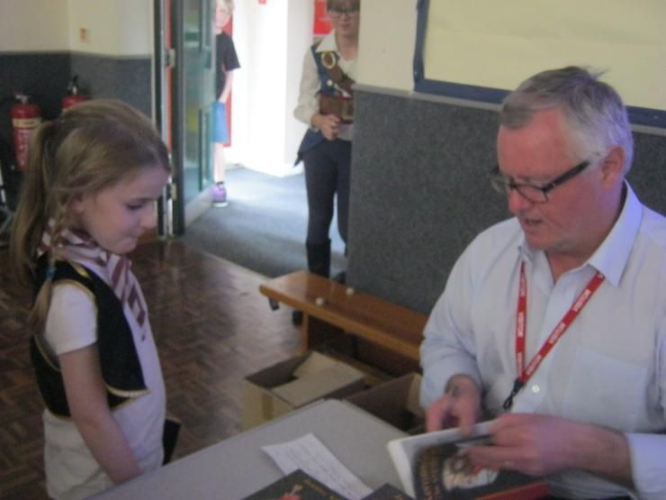 Jack Trelawny Free School Author Visit to Linchfield Primary School: To book a visit, email Jane Bennett, Events Manager: info@campionpublishing.com