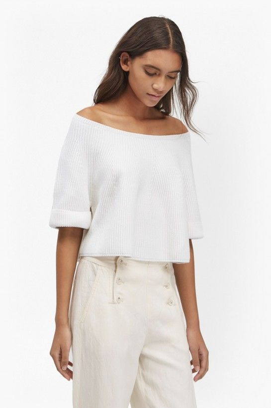 11164527513 Tilly cropped knitted jumper for $128 @ French Connection | Fashion ...