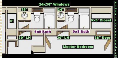 Free Bathroom Plan Design Ideas Bathroom Designs 5x8 And 5x9 Sizes 5x9 Bathroom Design Ideas With A 5x8 Bathroom Layout Bathro Bathroom Layout Bathroom Plans Mold In Bathroom