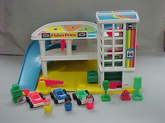 Garage   Fisher Price Vintage   Pinterest   Fisher price, Old toys and Toys