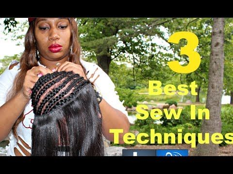 Magnificent Full Sew In Weave Tutorial 3 Techniques Video Full Sew In Hairstyles For Men Maxibearus