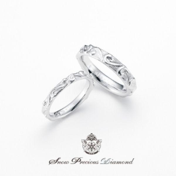 Grateful Snow ~感謝~/スノープレシャスダイヤモンド 「Ring Link Ring」で婚約指輪・結婚指輪を探す!