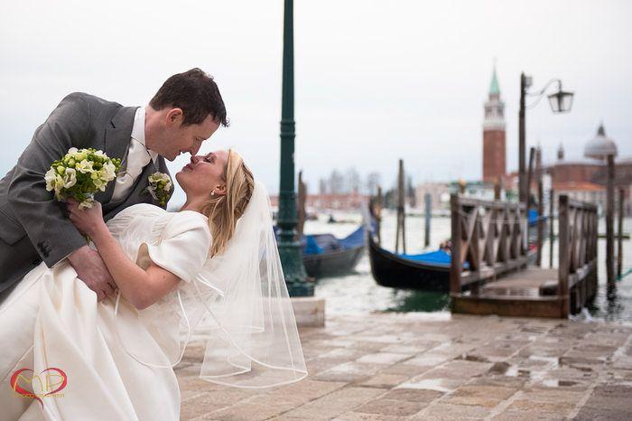Wedding in Venice / Sweet dance in San Marco