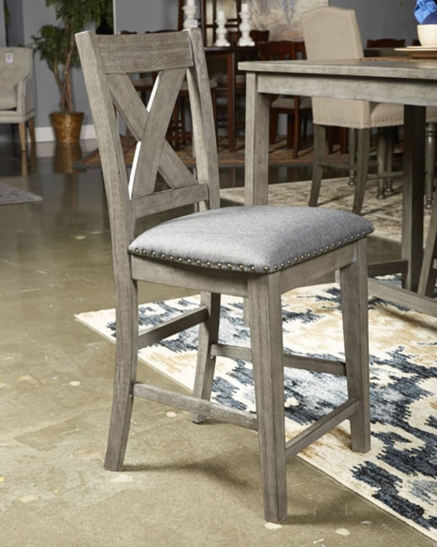 Signature Design by Ashley Caitbrook Gray Upholstered
