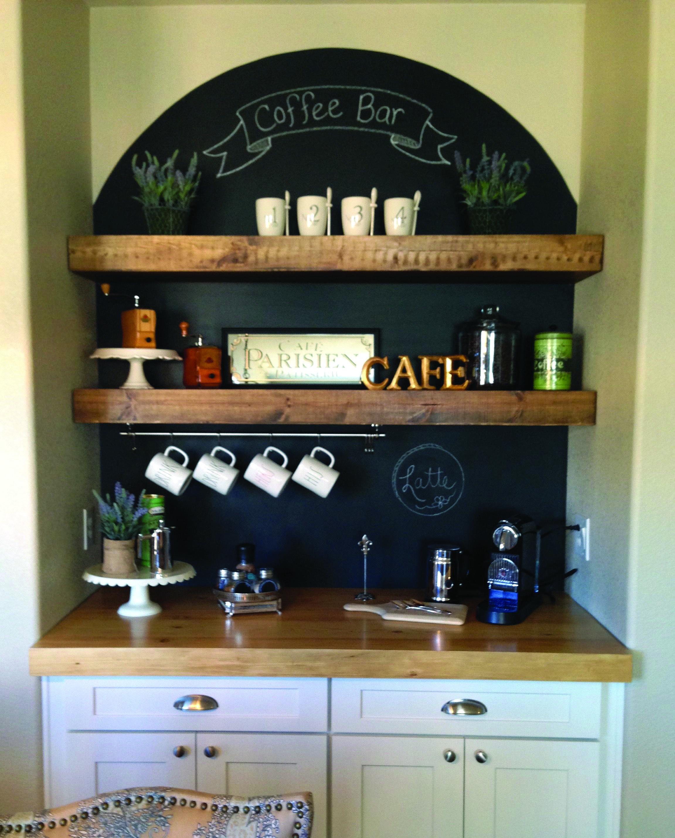 8 Creative Minibar Ideas For Your Home Coffee Bar Home Coffee Bar Design Farmhouse Coffee Bar