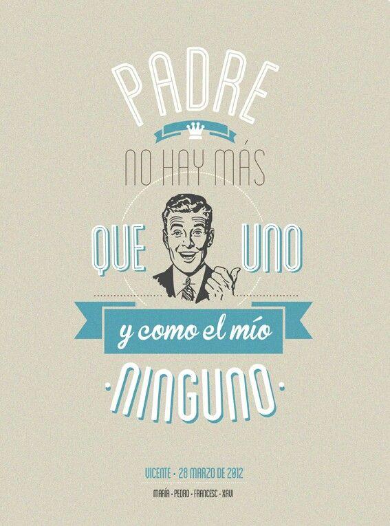Padre no hay m s que uno by mr wonderful - Mr wonderful padre ...