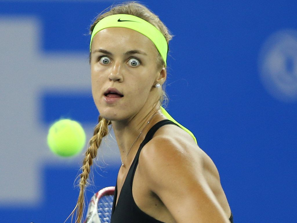 Gallery Tennis Players Pull The Funniest Faces Tennismash In 2020 Tennis Players Funny Faces Best Tennis Rackets