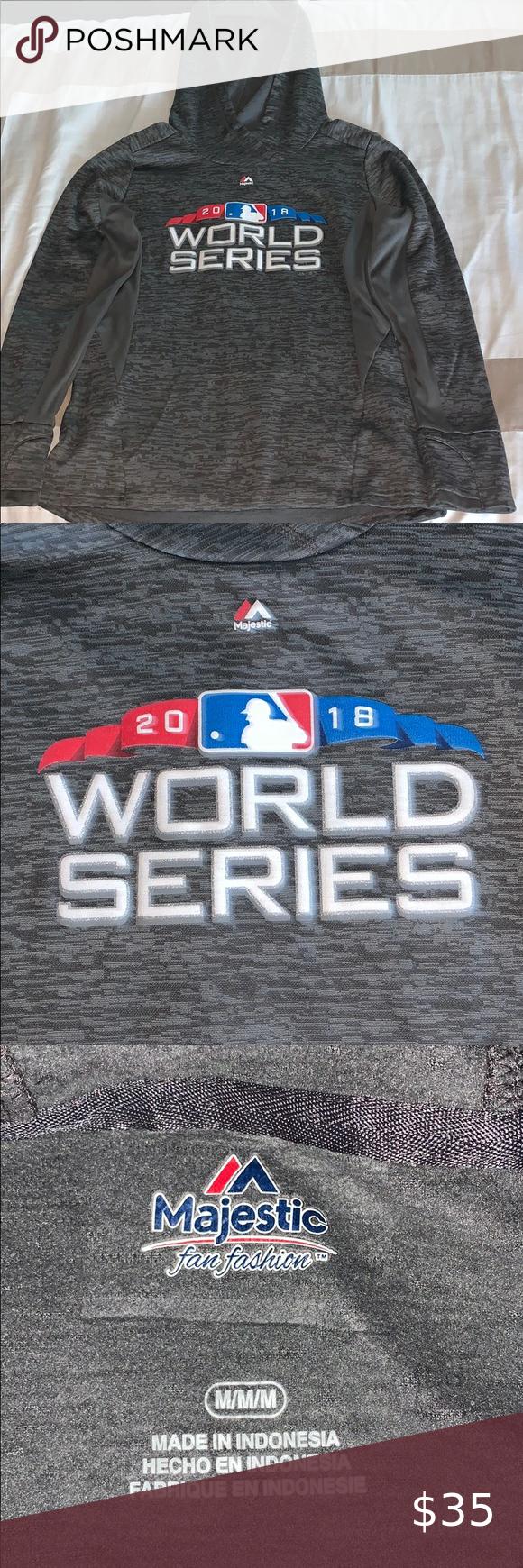 2018 World Series Sweatshirt In 2020 Majestic Shirts Sweatshirts Sweatshirt Shirt