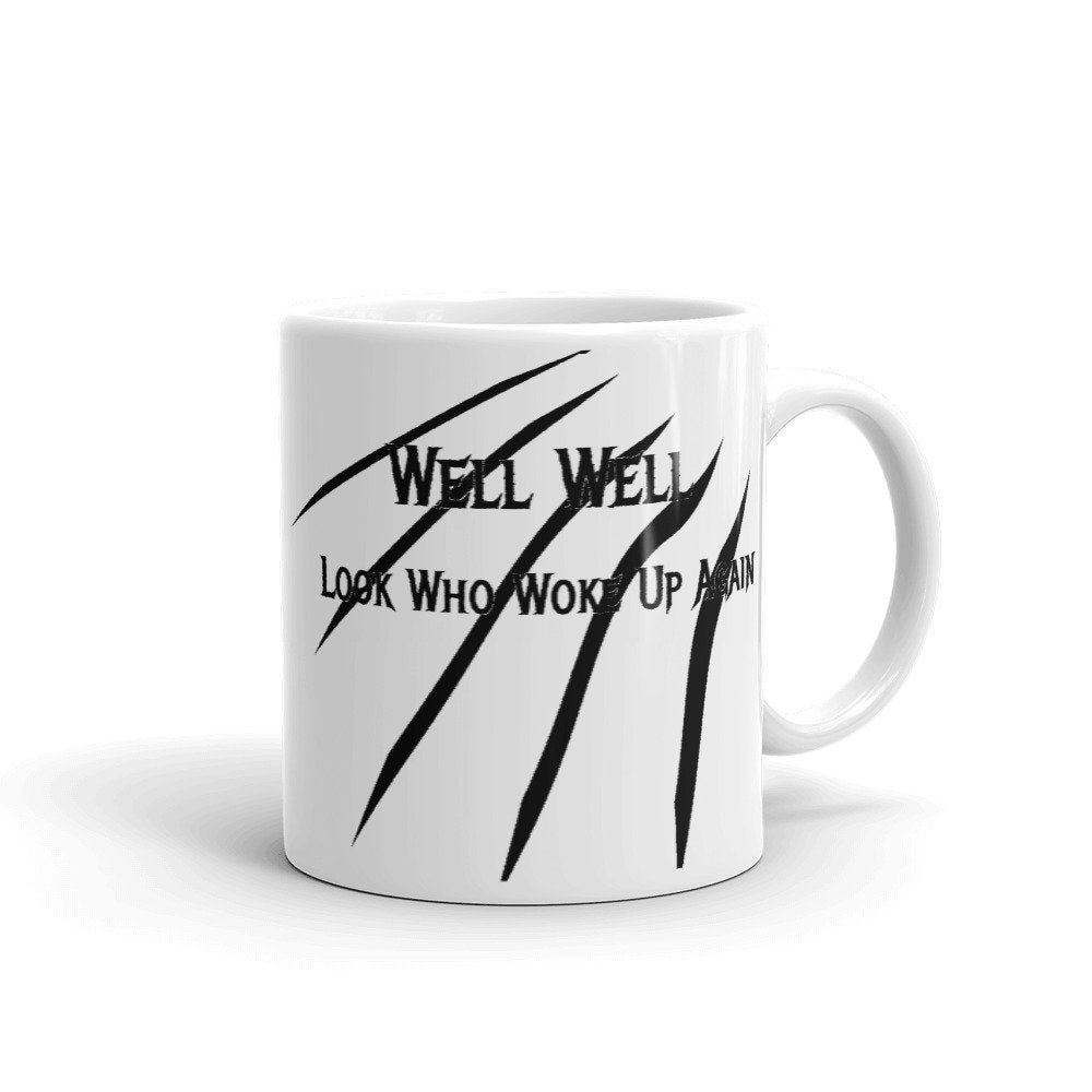 Coffee Mug | Not A Morning Person | Look Who's Up | Funny Coffee Mugs Coffee