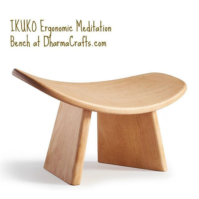 The Curved Seat Of This Well Designed Cherry Wood