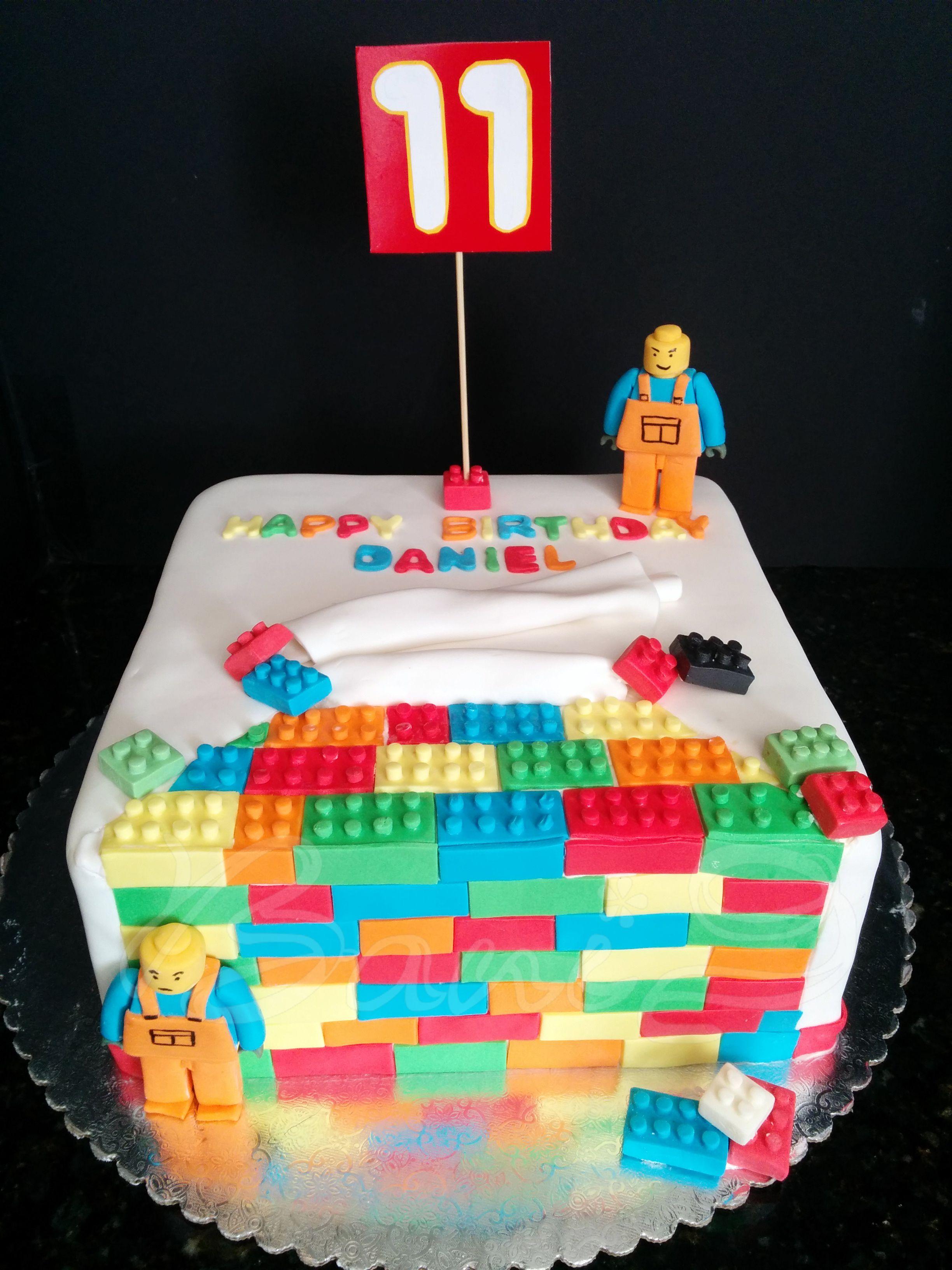 Lego Cake 10 Square Cake For Boy Bani Bakery Cakes For Boys Cake Square Cakes