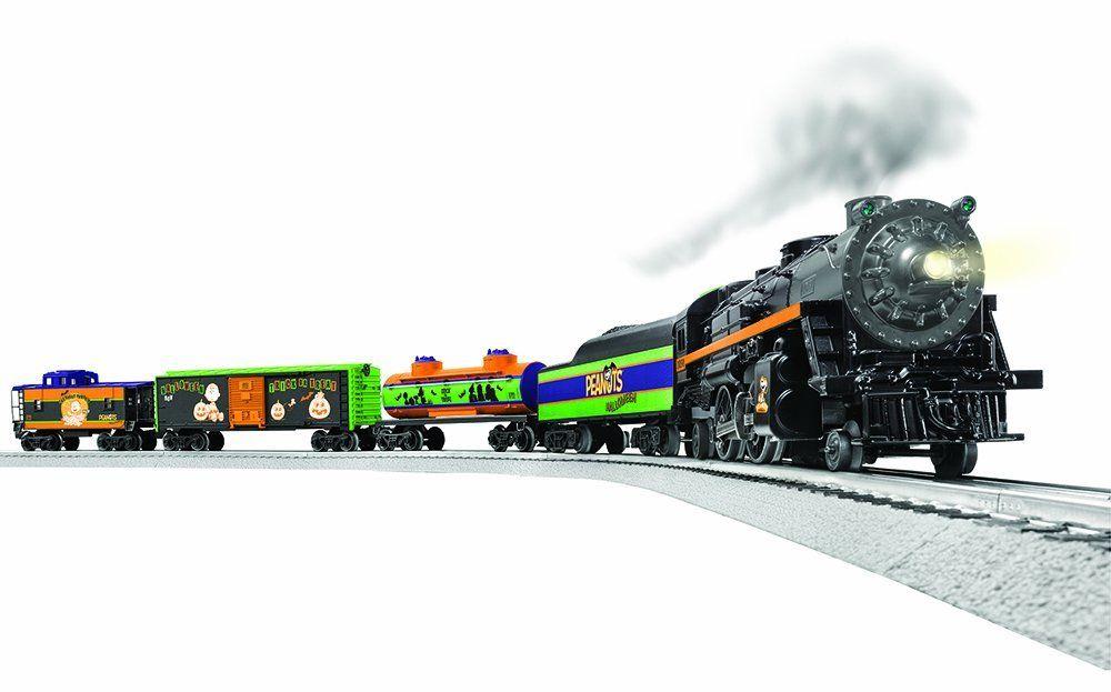 Lionel peanuts halloween train set toys