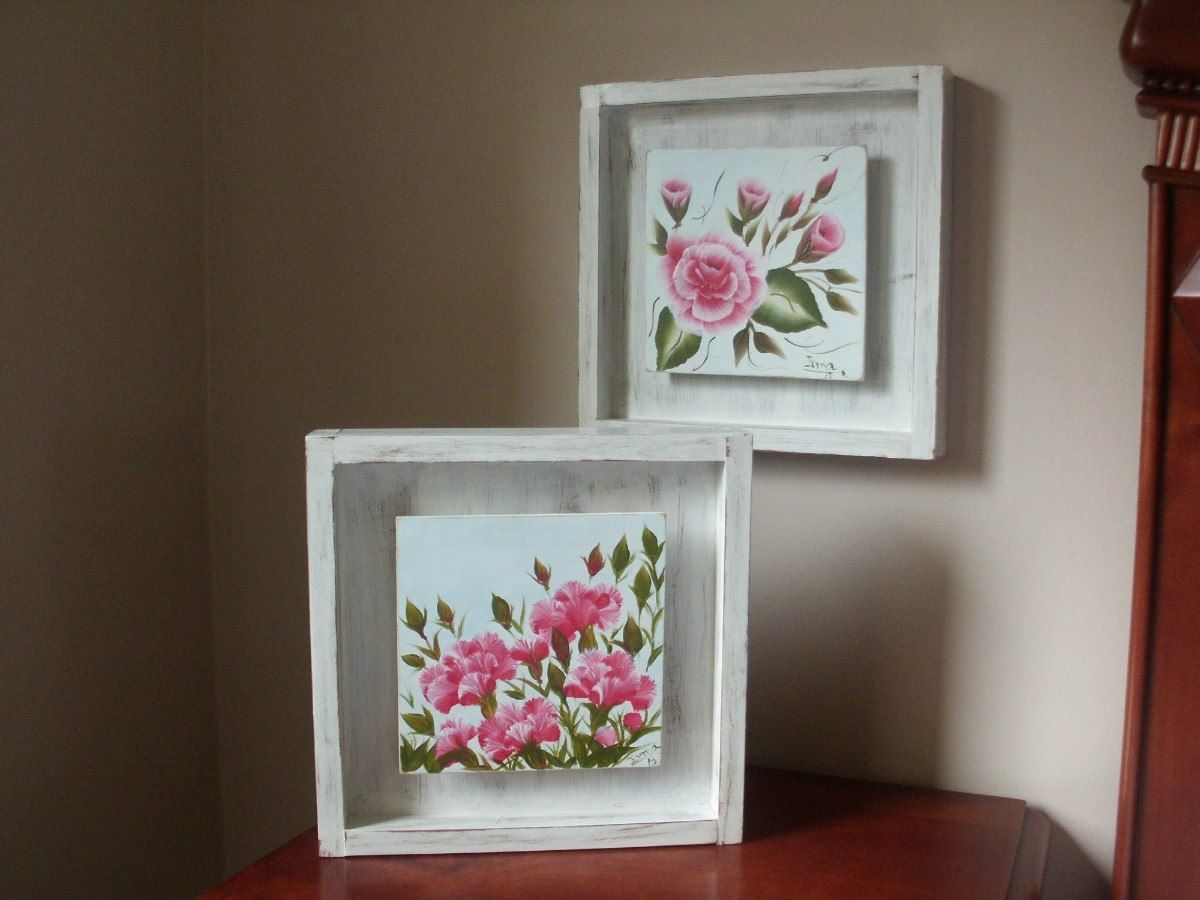 Cuadros Decorativos En Mdf. Motivo Flores   Decoupage   Pinterest ...