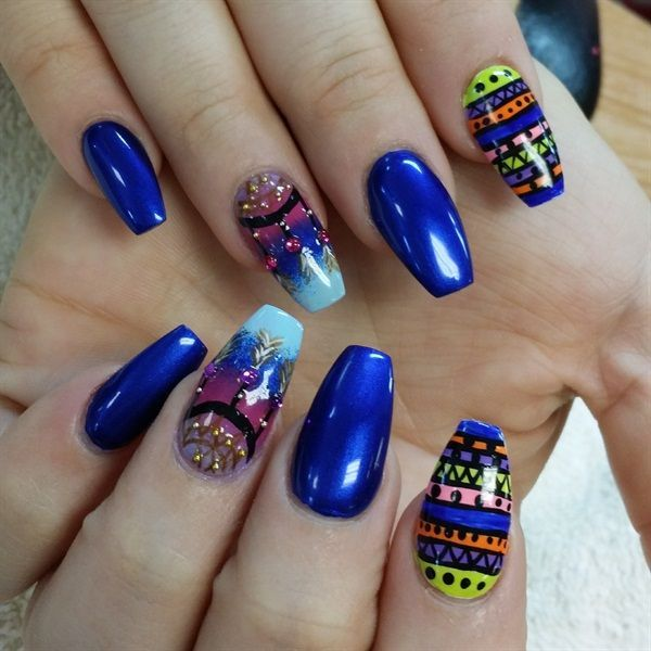 yellow nails art,toe nail art for beginners,black and beige nail art ...