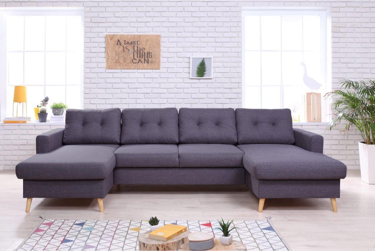 bobochic canap panoramique double m ridienne stockholm. Black Bedroom Furniture Sets. Home Design Ideas