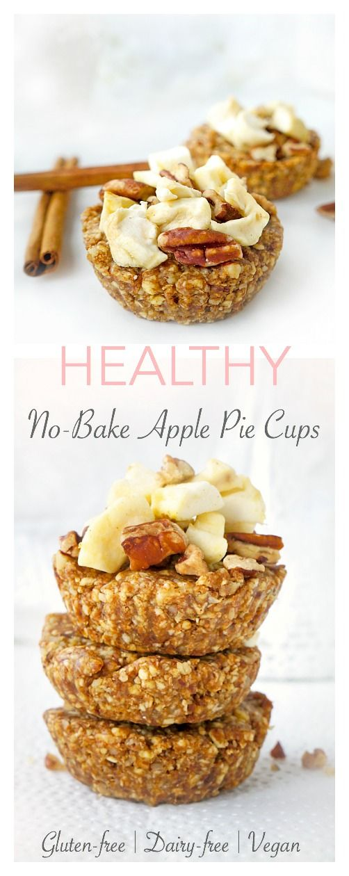 No-Bake Apple Pie Cups images