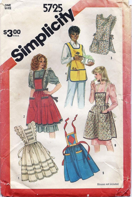Vintage Apron Patterns Unique Ideas