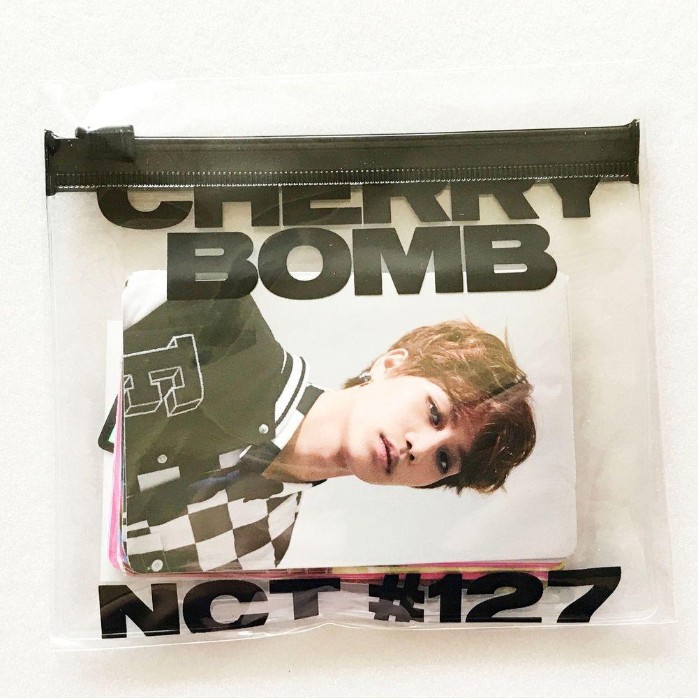 SM TOWN NCT127 3rd Mini Album Cherry Bomb Official Sticker