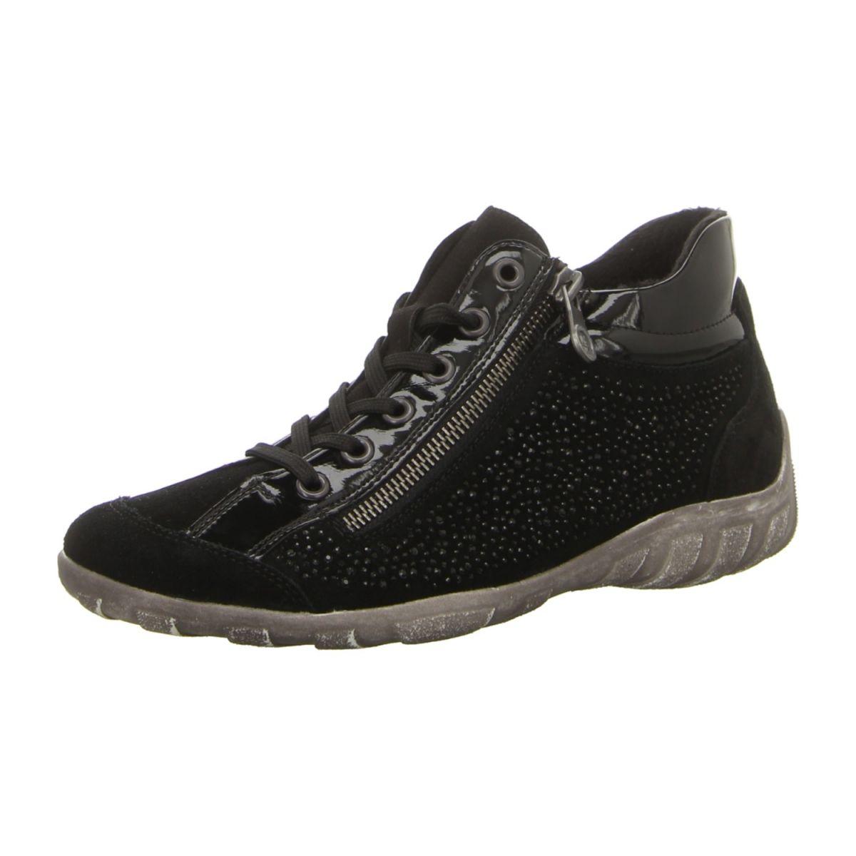 NEU: Remonte Sneaker R3487-02 - schwarz -