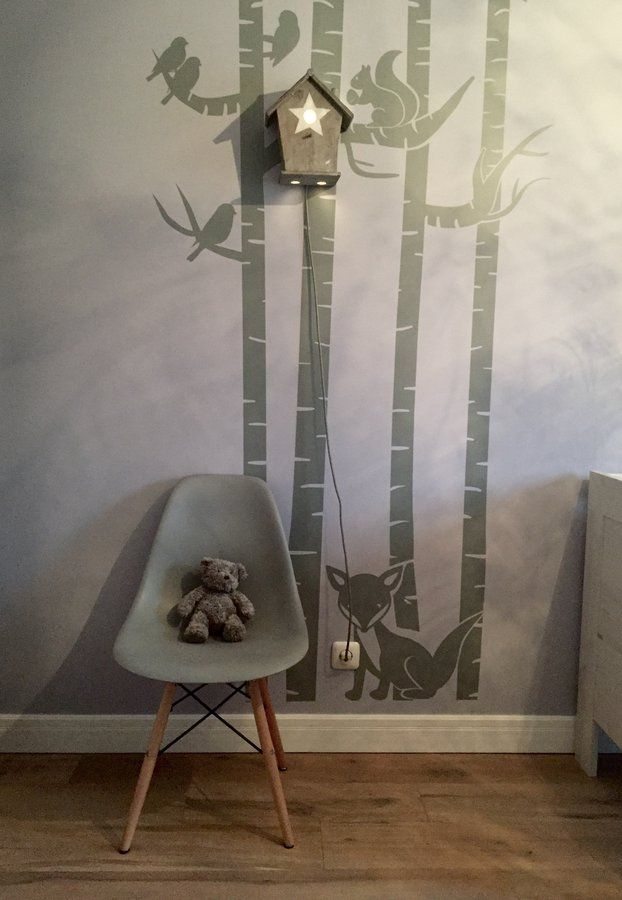 lichtung im wald diy nachtl mpchen baby pinterest. Black Bedroom Furniture Sets. Home Design Ideas