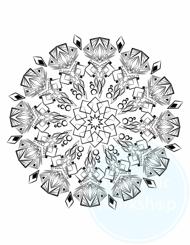 Coloring Page 1 Free Page Mandala Coloring Page Coloring Pages Coloring For Adults Coloring Mandala Coloring Pages Mandala Coloring Geometric Mandala