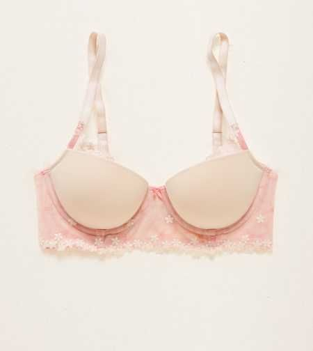 Holly Longline Pushup Bra. The Special Occasion: Your prettiest pushup for special moments! #Aerie