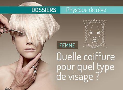 Quelle coiffure pour quel type de visage femme | Coiffures and Coupe