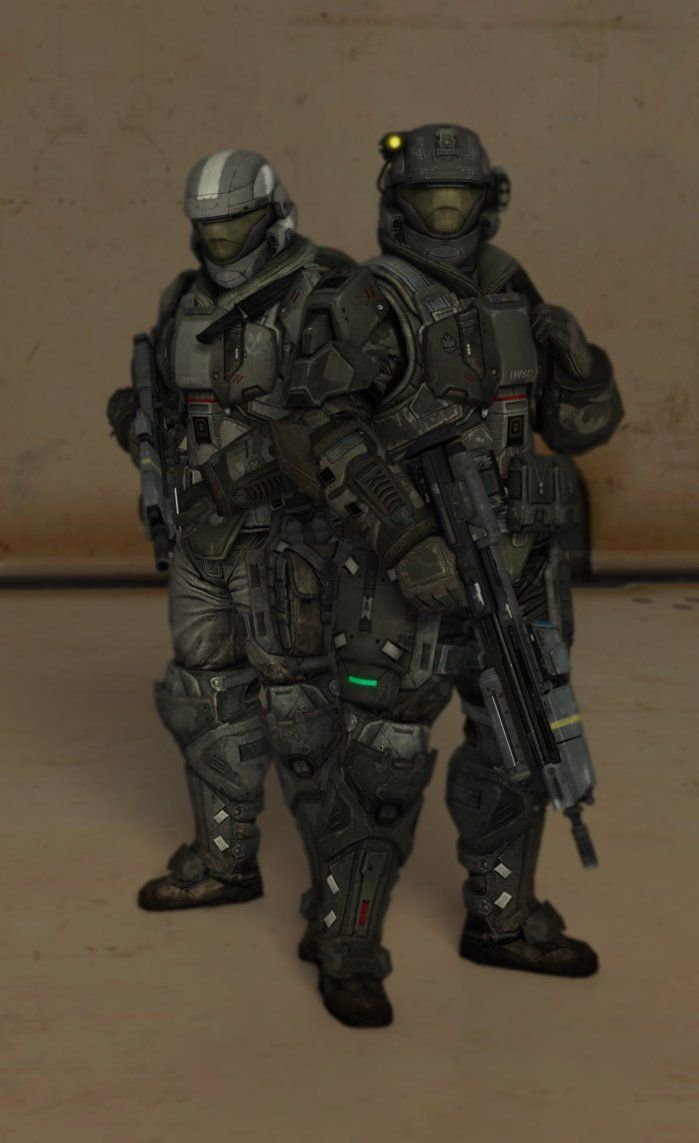 Somos ODST [Halo Reach] by TheMachinifilms   Armas   Halo 5