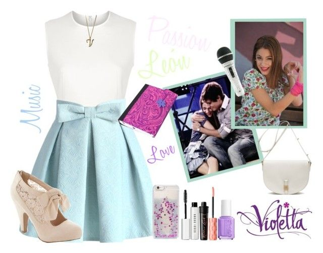 """""""Violetta Style #8"""" by violetta-leonetta ❤ liked on Polyvore featuring beauty, Alexander Wang, Chicwish, Lands' End, Essie, Benefit, Bobbi Brown Cosmetics, Skinnydip and Mulberry"""