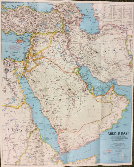 Map front poster middle east yemen syria turkey iran iraq kuwait map front poster middle east yemen syria turkey iran iraq kuwait oman united gumiabroncs Gallery